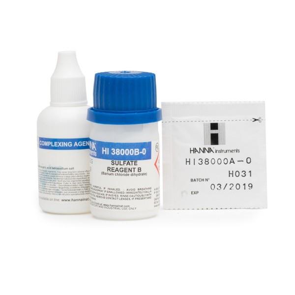 Hanna Reagenzien HI38000-10 für Testkit Sulfat 20-100 mg/l