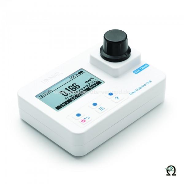 Kompakt-Photometer HI 97762 f. Freies Chlor Spuren 0,000-0,500 mg/l