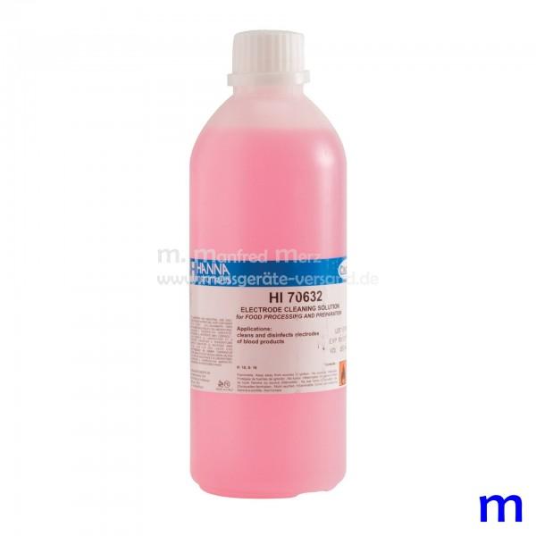Elektrodenreinigungslösung HI70632L Anwendung Organische Substanzen