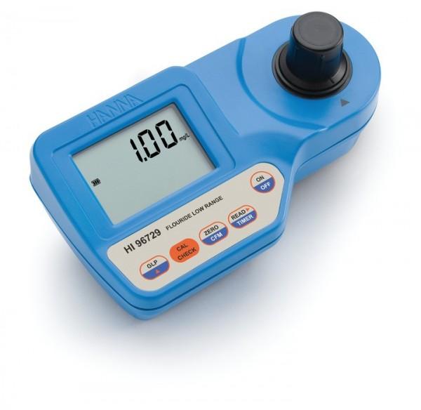 Kompakt-Photometer HI96729 für Fluorid Niedrig, 0,00-2,00 mg/l