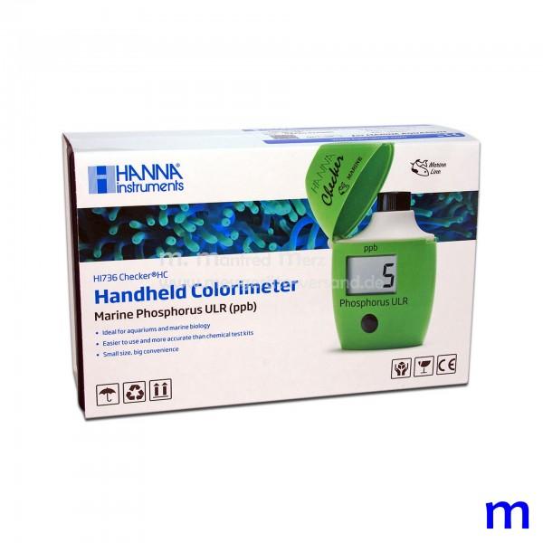 Mini-Photometer Checker HI 736 f. Phosphor Ultraniedrig