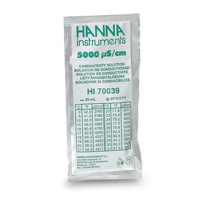 Hanna EC-Kalibrierlösung 5.000 µS/cm 20ml