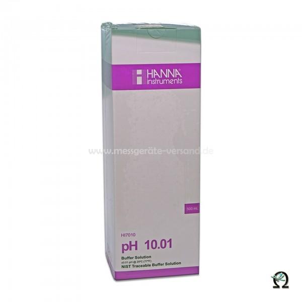 Hanna Pufferlösung HI7010 pH 10,01 mit Analysezertifikat 500ml