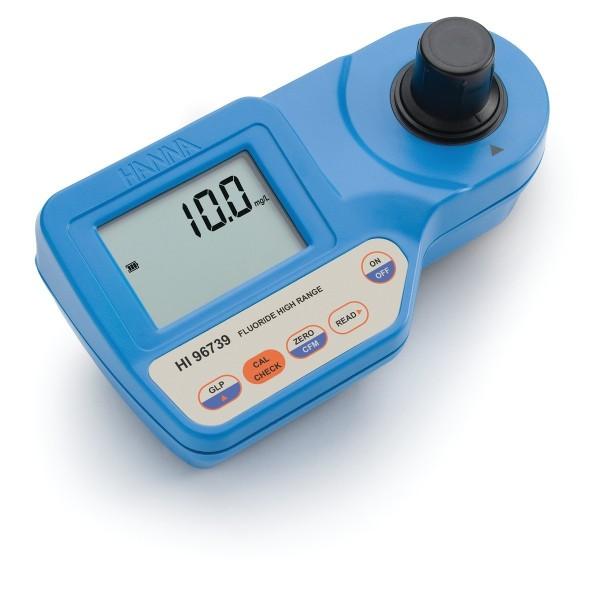 Kompakt-Photometer HI96739 für Fluorid Hoch, 0,0-20,0 mg/l