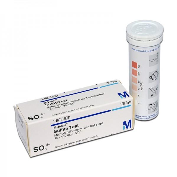 Merckoquant® Sulfit-Teststäbchen 100 Stück