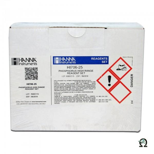 Reagenzien HI706-25  Phosphor Hoch f. Fotometer HI706