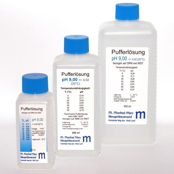 Pufferlösung pH 9,00 mit Analysezertifikat