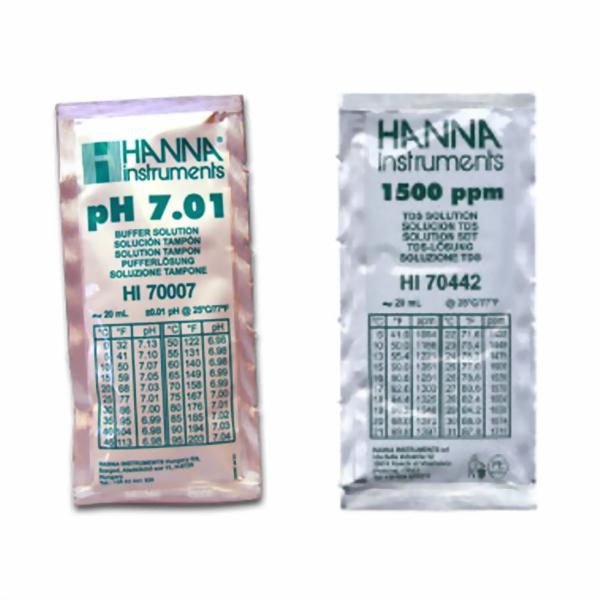 Hanna Kalibrierkit pH 7,01 und 1.500 ppm (mg/l)