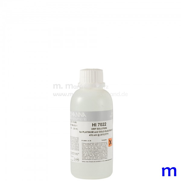 Hanna HI7022 Redox-Lösung 470 mV 230ml