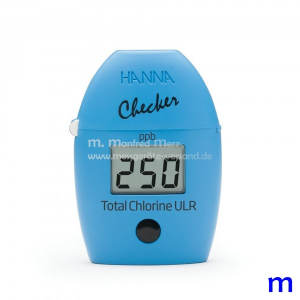 Mini-Photometer Checker HI761 f. Gesamtchlor Ultraniedrig